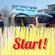 Start! Spargelstand