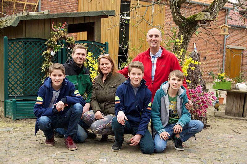 Familie Garlipp auf Spargelhof