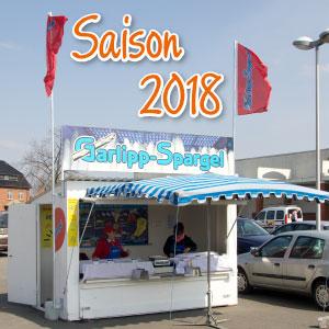 Spargelstände geöffnet für Spargelsaison 2018!