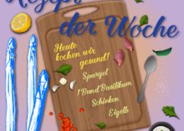 Spargelrezept der Woche Spargel mit Basilikumsosse Vorschaubild