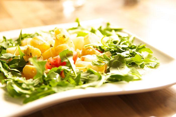 Garlipp-Spargel-Salat, Spargelsalat mit Rucola, Rezept der Woche