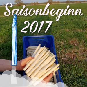 2017, Spargelsaison ist eröffnet, folgende Standorte, Garlipp-Spargel